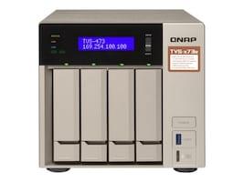 Qnap 4-Bay NAS iSCSI IP-SAN R 4CORE Storage, TVS-473E-8G-US, 35059731, SAN Servers & Arrays