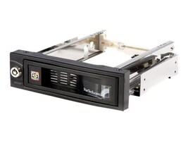StarTech.com 5.25 Tray-less SATA Hot-Swap Bay, HSB100SATBK, 7295825, Hard Drive Enclosures - Single