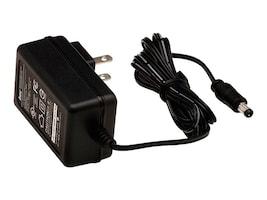 Digi AC Power Supply 5VDC US 2-pin to 2.5mm Locking Barrel Plug for TransPort WR11, 76000934, 32411111, AC Power Adapters (external)