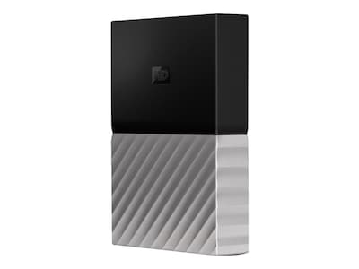 WD 4TB My Passport Ultra USB 3.0 Portable Hard Drive - Black Gray, WDBFKT0040BGY-WESN, 34255571, Hard Drives - External