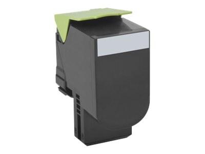 Lexmark 701K Black Return Program Toner Cartridge, 70C10K0, 14909389, Toner and Imaging Components - OEM