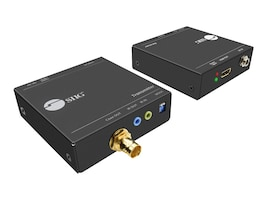 Siig EXTENDS HDMI AND IR SIGNALS OVER A SINGL, CE-H23S11-S1, 36178724, Network Transceivers