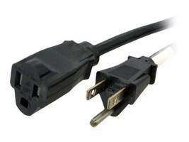 StarTech.com Power Cord Extension 6ft NEMA 5-15R to NEMA 5-15P, PAC1016, 10746834, Power Cords