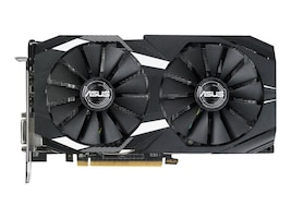 Asus DUAL-RX580-O4G Main Image from Front
