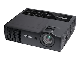 InFocus IN1118 DLP Projector, 2200 Lumens, Black, IN1118HD, 28347874, Projectors