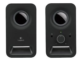 Logitech Z150 Multimedia 2.0 Speakers, Midnight Black, 980-000802, 16333230, Speakers - PC