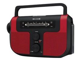 GPX WeatherX AM FM Radio w  LED Flashlight, WR383R, 33171148, Portable Stereos
