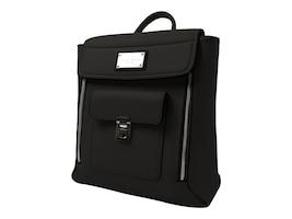 Sandy Lisa Amalfi Black Backpack for Laptops Tablets up to 13, SLAML-BPBK-13, 36395577, Carrying Cases - Other
