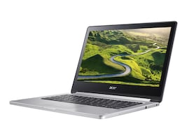 Acer Chromebook CB5-312T-K0YQ ARM Cortex-A72 2.0GHz 4GB 64GB ac BT WC 3C 13.3 FHD MT Chrome OS, NX.GL4AA.002, 32626729, Notebooks - Convertible