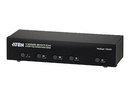 Aten 4 Port VGA Audio Switch, VS0401, 15222087, Switch Boxes - AV
