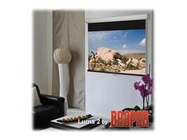Draper Luma 2 Manual Projection Screen, Matte White, 4:3, 10', 206014, 10331663, Projector Screens