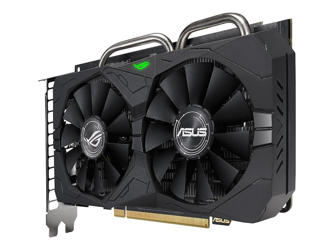 Asus Radeon RX 560 Overclocked Graphics Card, 4GB GDDR5 (ROG
