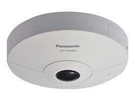 Panasonic 9MP 360 Degree Indoor Network Camera, WV-SFN480, 33593471, Cameras - Security