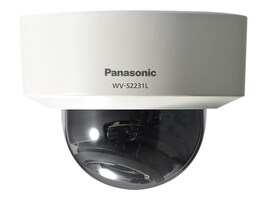 Panasonic 1080P H.265 Indoor Vandal Dome Camera, WV-S2231L, 36929591, Cameras - Security