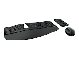 Microsoft Wireless Sculpt Ergonomic Desktop Kit, L5V-00001, 15755529, Keyboard/Mouse Combinations