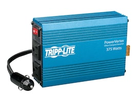 Tripp Lite PowerVerter 375 Watt Ultra-Compact Inverter 12VDC Input 120VAC Output, PV375, 453398, Power Converters