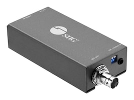 Siig CONVERTS HDMI SINGLE FROM ONE HDMI SOURC, CE-SD0911-S1, 36179014, Network Transceivers
