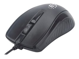 Manhattan 3 Button Wired Optical Mouse, 179331, 38127824, Mice & Cursor Control Devices