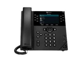 Polycom VVX 450 Business IP Phone w 12 Lines, PoE, Color Display, 2200-48840-025, 36084453, VoIP Phones