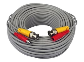 Night Owl 24AWG BNC Video Power Camera Extension Cable, 100ft, with Adapter, CAB-24AWGG-100VP, 16334953, Cables