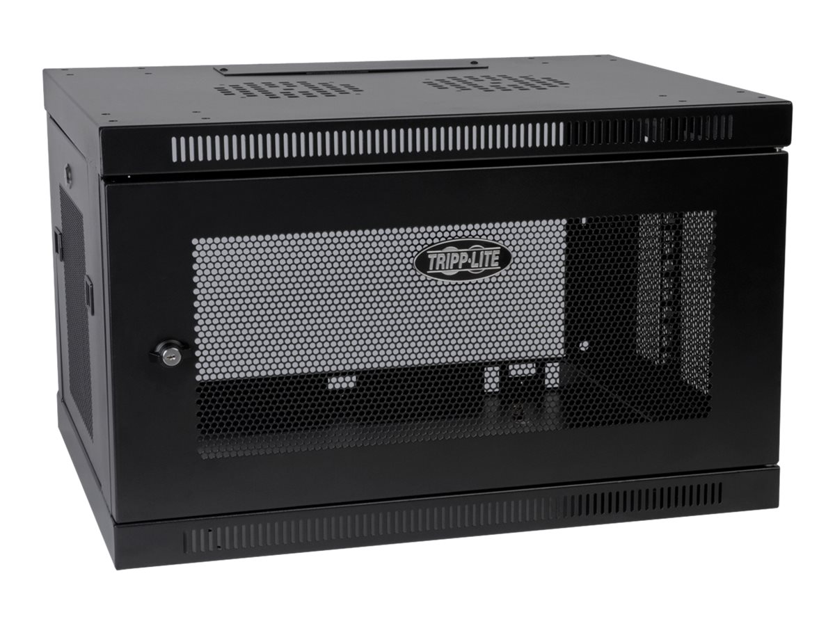 Tripp Lite SmartRack 6U Wall Mount Rack Enclosure Cabinet, SRW6U, 11463625, Racks & Cabinets