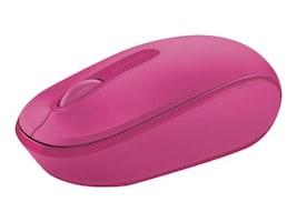 Microsoft Wireless Mobile Mouse 1850, Magenta Pink, U7Z-00062, 18358852, Mice & Cursor Control Devices