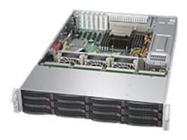Supermicro Barebones, SuperServer 5028R-E1CR12L 2U RM C612 E5-2600 v3 Family Max.512GB DDR4 12x3.5 HS SAS Bays, SSG-5028R-E1CR12L, 17946126, Barebones Systems