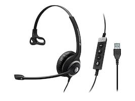 Sennheiser SC 230 USB II Mono Noise Canceling Headset, 506480, 35540891, Headsets (w/ microphone)