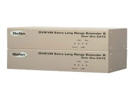 Gefen DVIKVM Extra Long Range Extender, EXT-DVIKVM-ELR, 13349391, KVM Displays & Accessories