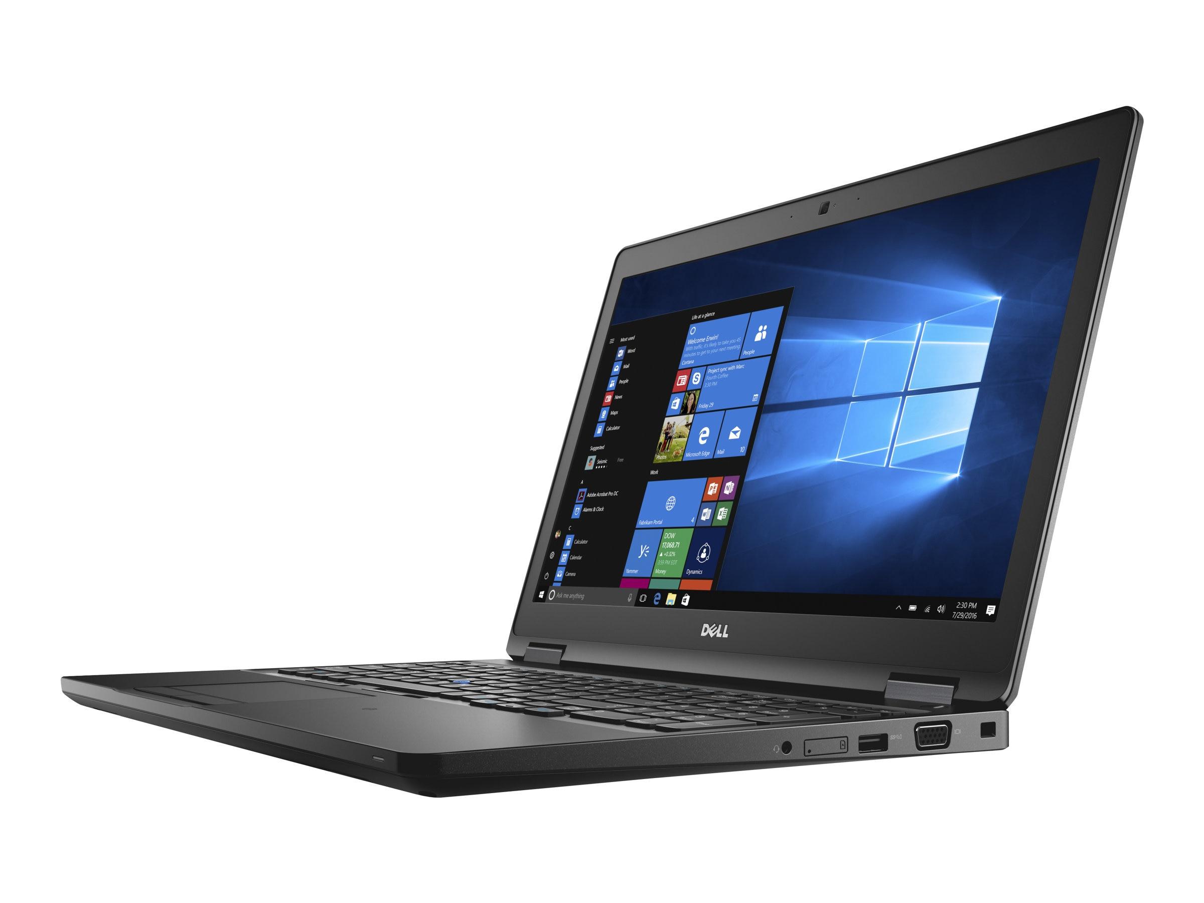 Dell Latitude 5580 Core i5-7300U 2.6GHz 8GB 500GB ac BT WC 4C 15 HD W10P64, N3JC6, 33644208, Notebooks
