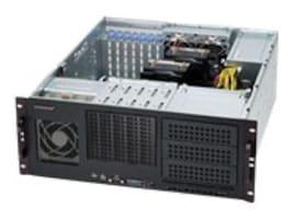 Supermicro Chassis, 4U RM, 3x5.25, 5x 3.5, 7xSlots, 500W PS, Black, CSE-842I-500B, 13714272, Cases - Systems/Servers