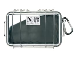 Pelican 1040 MICRO CASE SOLID BLACK    CASEINTERIOR DIM 6.50IN  3.87IN  1.75IN, 1040-025-110, 36535373, Carrying Cases - Other