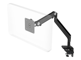 Humanscale M Connect M2 Single Monitor Arm for Displays up to 20 lbs, Clamp Mount, MConnect, Black, M2MBES--NA, 34035148, Stands & Mounts - AV