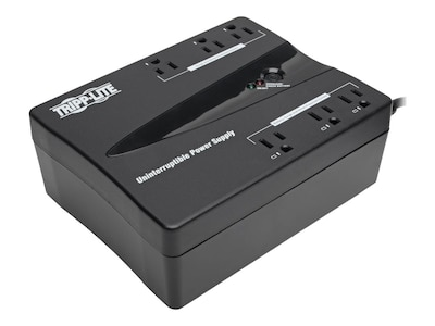 Tripp Lite 350VA UPS Compact Low Profile Standby (6) Outlet, BC350, 6020926, Battery Backup/UPS