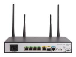 HPE MSR954-W 1GbE SFP LTE (AM) 2GbE-WAN 4GbE-LAN Wireless 802.11n CWv7 Router, JH298A#ABA, 30946067, Wireless Routers