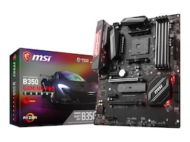 Microstar B350 GAMING PRO CARBON Main Image from Front