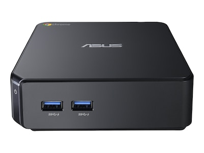 Asus Chromebox Mini PC Celeron 2955U 1.4GHz 2GB DDR3 16GB SSD GbE abgn BT ChromeOS, CHROMEBOX-M004U, 16842940, Desktops
