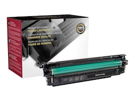 Clover Technologies Black Toner Cartridge for HP Color LaserJet, 200937P, 37165669, Toner and Imaging Components - Third Party