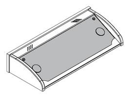 Spectrum Industries Link Lectern Blank Insert Panel for Medium OCC, Black, 96504B, 31990465, Furniture - Miscellaneous