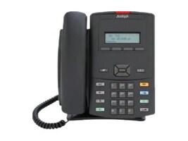 Avaya 1210 IP Deskphone, Icon Keycaps, No Power Supply, Charcoal, NTYS18AC70E6, 12386596, Telephones - Business Class