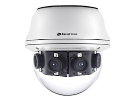 Arecontvision 8MP H.265 H.264 All-in-One 180-Degree Panoramic True Day Night Indoor Outdoor Dome IP Camera, AV08CPD-118, 35668908, Cameras - Security