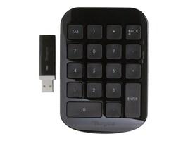 Targus Wireless Numeric Keypad, Black Gray, AKP11US, 10159736, Keyboards & Keypads