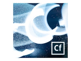 Adobe Govt. CLP ColdFusion Standard Renewal Upgrade Plan 1 User 1 Year 12 Months Level 2, 65222605AC02A12, 32446007, Software - Programming Tools