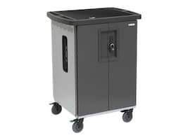 Bretford Manufacturing EVER Charging Cart AC for up to 45 Devices with 270 Degree Front Doors and Rear Door, T45CDB-P-AC-US, 33650632, Computer Carts