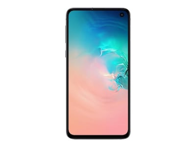 Samsung Galaxy S10e Smartphone, Prism White, 128GB (Unlocked), SM-G970UZWAXAA, 36960564, Cell Phones