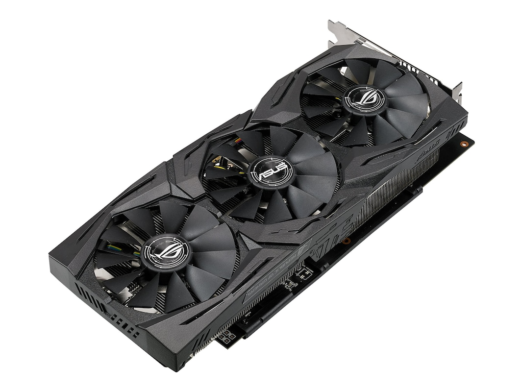 Asus AMD Radeon RX 580 PCIe Overclocked Graphics Card, 8GB GDDR5