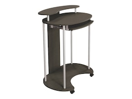 Balt Up-Rite Standing Mobile Workstation Teak, 91105, 35717731, Furniture - Miscellaneous