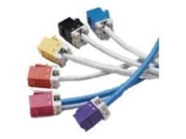 AMP 1-Port Modular Jack 110 8W8P Orange, USL600-ORG, 12424530, Premise Wiring Equipment