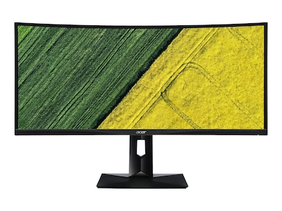 Acer 34 CZ340CK BMIIPPPHX UW-QHD Ultrawide Curved Display, Black, UM.CC0AA.001, 33605356, Monitors