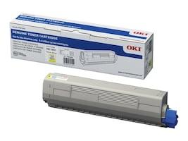 Oki Yellow Toner Cartridge for C831 Series Printers, 44844509, 15929955, Toner and Imaging Components - OEM